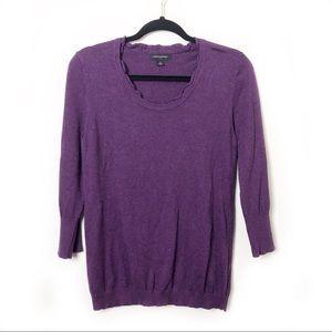 Banana Republic Factory Purple Sweater